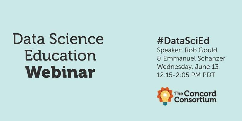 Data Science Education Webinar